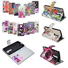 High Quality Leather Wallet Pocket Silicone Flip Cover Case For LG G4 Mini G4C