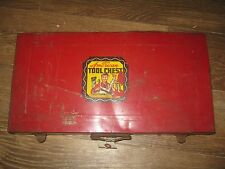 Vintage? AMERICAN TOOL CHEST AMERICAN TOY AND FURNITURE CO. INC. METAL BOX