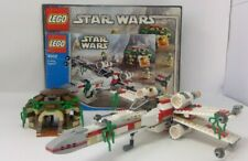 Lego ® Star Wars 4502 X-Wing Fighter Yodas Hütte  OVP + BA  no figures pre owned