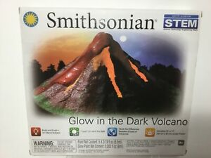 NEW - Smithsonian Glow in the Dark Giant Volcano 14 inches