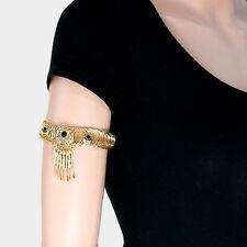 HOT Aztec Design Gold Black Upper Arm Chain Bracelet Cuff By Rocks Boutique
