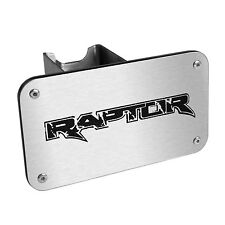 "Ford F-150 Raptor Chrome Finish Steel Metal 2"" Tow Hitch Cover Plug Laser Cut"