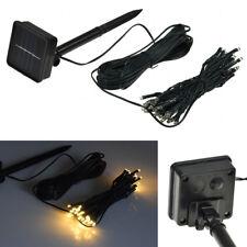 LED Lichterkette WARMWEIß  BUNT IP44 Außen Innen 230V Akku Solar Party Deko LEDs