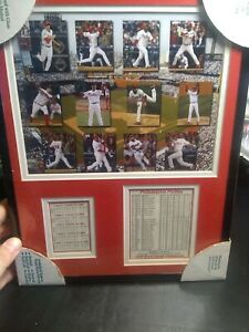 PHILADELPHIA PHILLIES 2008 WORLD SERIES CHAMPIONS framed photo new free shipping