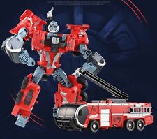 Transformers WEIJIANG Century of deformation Fire Fighting Truck Cars Xmas Gift