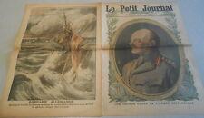 LE PETIT JOURNAL du 6 Mai 1917..LE GENERAL ALLENBY chef de l'armée britannique