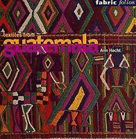 Textiles De Guatemala Libro en Rústica Ann Hecht