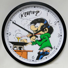 Gaston Franquin Cooking Citime wall clock horloge murale MIB