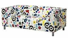 IKEA KLIPPAN Cover for Loveseat sofa Fornyad Vibrant Multicolor Unique pattern