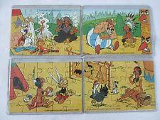 Ü-Ei  Puzzle Asterix in Amerika 1995 & 4 Beipackzettel