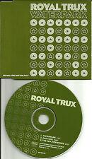 ROYAL TRUX Waterpark 2 UNRELEASED TRX EUROPE PROMO DJ CD Single 1999 USA Seller