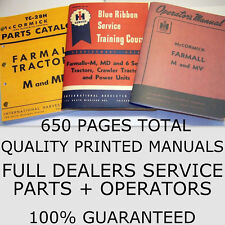 3 Farmall M Mv Service Teile Betreiber Handbücher Owners International IH