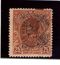 Venezuela correo certificado año 1900 (AA-49)