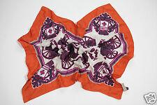 Neu Coccinelle Seide Tuch Schal Halstuch Scarf 90cm x 85cm 1-15 (119)