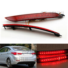 For 2012-13 Hyundai Elantra MDAvante lens LED Bumper Reflector Tail Brake Light