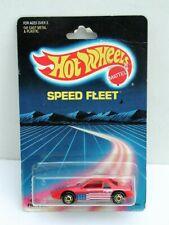 Hot Wheels 1987 Speed Fleet Red Pontiac Fiero 2M4 MOC #1458
