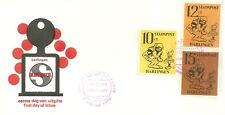 HARLINGEN (NETHERLANDS) LOCAL POST FIRST DAY COVER 1970 CARTOON CHARACTERS