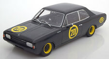 Opel Rekord C #201 black Witwe 1967 by BoS Models LE of 1000 1/18 Scale. New!