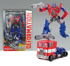 """Transformers 4 Optimus Prime 7"""" Toy Action Figure New In Box"""