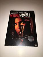 WRONG NUMBER DVD Movie- Brand New & Sealed- Fast Ship OD-226