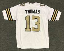 Michael Thomas #13 Signed Saints Jersey Sz XL Beckett BAS WITNESSED COA