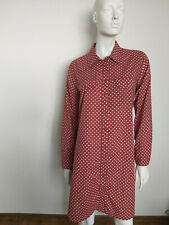 RABENS SALONER women's dress size L brown long sleeve