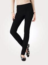 Artigiano Italian High-Tech Stretch Trousers Size 12 Uk BNWT RRP £104.95 Black