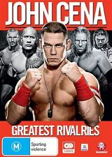 WWE: John Cena: Greatest Rivalries NEW R4 DVD