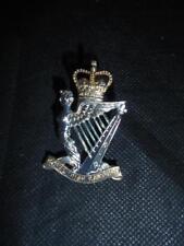 Genuine British Army Royal Irish Rangers Regiment Cap Badge