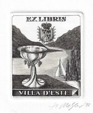 ROLF MEIER: Exlibris Villa D'Este