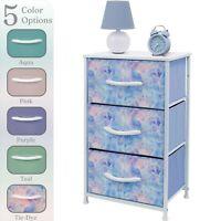 Sorbus Dresser w/ 3 Drawers - Furniture Storage Chest Organizer Unit for Bedroom