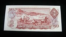 Inuit Hunting !!!   1974 Two Dollar Bank Note   -  Choice Uncirculated !!!!!!!!