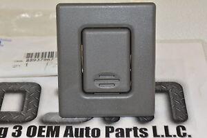 01-06 GMC Yukon XL 03-06 Escalade Dark Gray Seat Back Latch Button new OEM