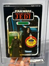 AFA 85 Kenner 1984 Star Wars ROTJ 79- back-B The Emperor 85-85-90 Unpunched NM+