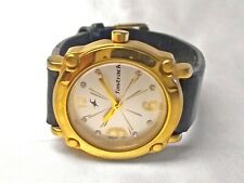 Fastrack Quartz Watch Gold Tone All Stainless Steel 6027 YEA 27mm Womens