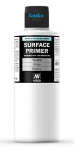 Schnellversand Vallejo 74600 Surface Primer weiß, white, 200ml