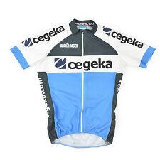 BIORACER Team CEGEKA Radtrikot S Triathlon Rennrad Bike kurzarm Cycling Jersey