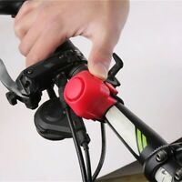 Bike Electronic Loud Horn Warning Safety Electric Bell Bicycle Handlebar Siren