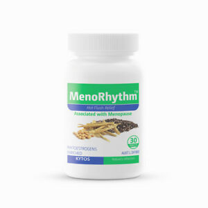 MenoRhythm, Hot Flush Relief and Menopause Support Tablets 30s