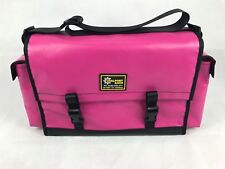 Coalport Bags PVC Medium 5 Pocket Tool Crib Bag Pink Mining Tradie Aust Made