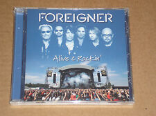 FOREIGNER - ALIVE & ROCKIN' - CD SIGILLATO (SEALED)