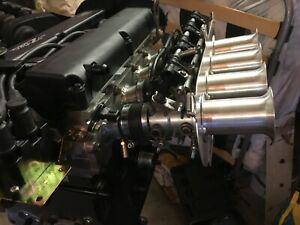 Ford Zetec 1.8/2.0 Bike Throttle Bodies Kit ZX10R 44mm *STARTER PACK*