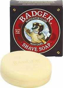 Man Care Shave Soap by Badger, 3.15 oz