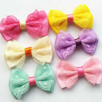 Lace Satin Ribbon Bow Sewing Diy Craft Flower Home Party Wedding Decoration