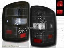 2014-2015 GMC SIERRA 1500/ 2015 SIERRA 2500 HD LED TAIL LIGHTS BLACK NEW PAIR