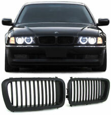 FRONT GRILLS BLACK FOR BMW E38 94-01 SERIES 7 SPORT-LOOK SPOILER NEW