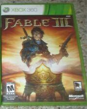 Fable III 3 (Microsoft Xbox 360, 2010) Complete