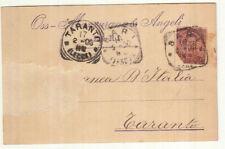 ZZ0698 - SINGOLO ISOLATO UMBERTO PERFIN MAZZURANA E ANGELI SU STAMPA 17-02-1900