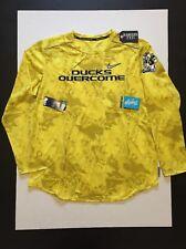 Nike Oregon Ducks Doernbecher Freestyle Stomp Cancer L/S Shirts Mens Size M