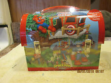 New 2003 Marvel Spidey and Friends Lunch Box Spider Man Sealed with Candy